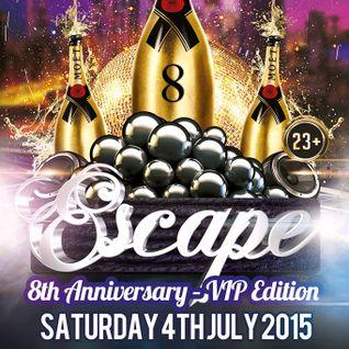ESCCAPE 8th ANNIVERSARY PROMO MIX July 2015, MIXED BY Supamaks.com