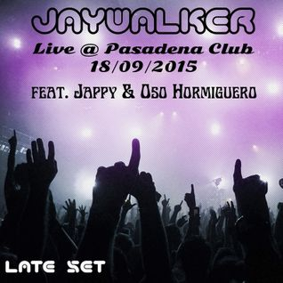 Live @ Pasadena Club - 18/09/2015 Late Set