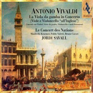 VIVALDI - Concerto RV580 a 4 violini - (con Jordi Savall / Le Concert des Nations)