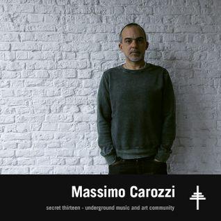 Massimo Carozzi - Secret Thirteen Mix 185