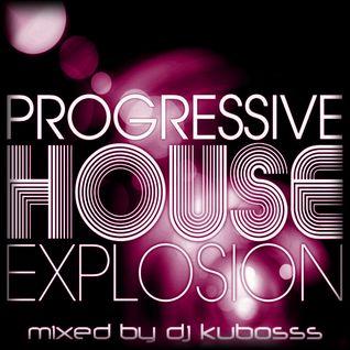 Progressive house explosion