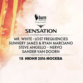Mr. White - Live @ Sensation Russia, Welcome to the Pleasuredome (Moscow) - 18.06.2016