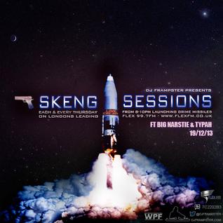 Dj Frampster Ft. Big Narstie & Typah live on Flex 99.7FM  - #skengsessions  (19/12/2013)