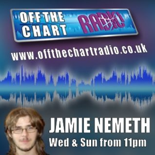 Jamie Nemeth's Midweekend - Off The Chart Radio - 11th September 2013