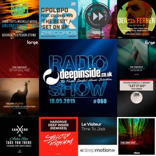 DEEPINSIDE RADIO SHOW 060 (The Checkup Artists of the week)