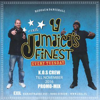 Jamaicas Finest till Nov 2016 Mix