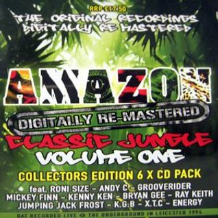Jumpin Jack Frost - Amazon classic jungle Vol 1 - The Underground, Leicester - 1994