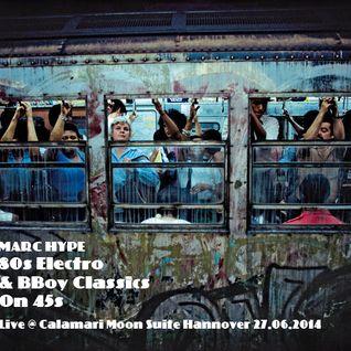 80s Electro & BBoy Classics on 45s Live