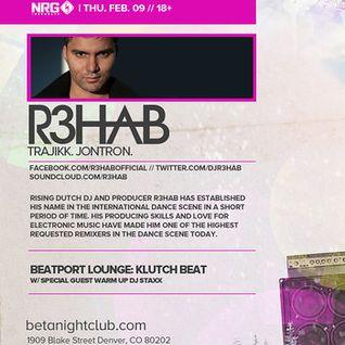 R3hab - Live @ Beta Nightclub (Denver, USA) - 09.02.2012 - www.LiveSets.at