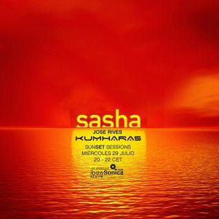 SASHA - LIVE at KUMHARAS - JULY 29th 2015 - IBIZA SONICA