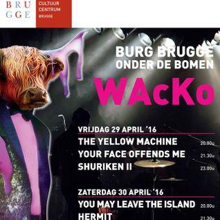 Hermit : Band voorstelling voor Wacko 2016
