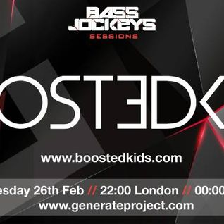 BassJockeys Sessions Show - 27.02.14 with guestmix by Boostedkids