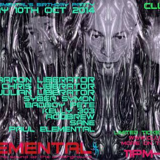 Elemental October 2014 Promo Mix - Techno