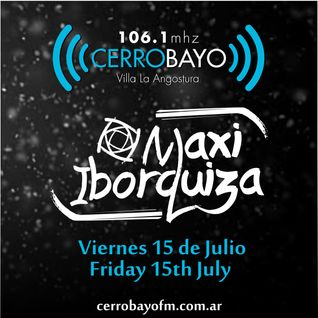 Maxi Iborquiza @ Cerro Bayo - Viernes 15 Julio | Friday 15th July