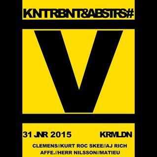 KurtRocSkee, Matieu b2b NilsNilsson - Live @ Kunterbunt & Abstrus V