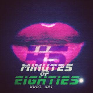 45 Minutes Of Eighties Vinyl Set