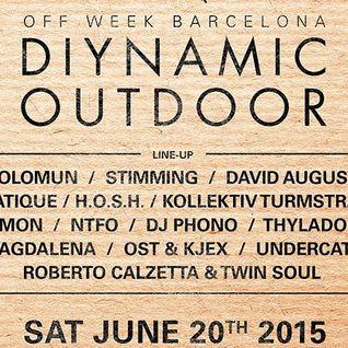 Solomun - Live @ Diynamic Outdoor, Parc Del Forum, Sonar 2015 - 20.06.2015