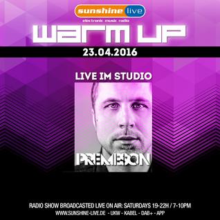 Premeson @ Sunshine Live (Live Studio Set 23.04.2016)