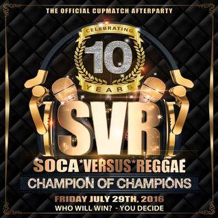 SOCA VS REGGAE 2016 PROMO MIX (MIXED BY DJ ADRENALIN)