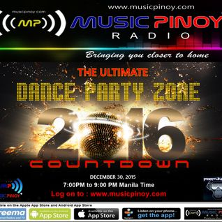 THE ULTIMATE DANCE PARTY ZONE ( COUNTDOWN TO 2016 )