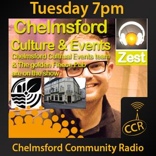 Zest - @ZestChelmsford - Matt Willis - 19/08/14 - Chelmsford Community Radio