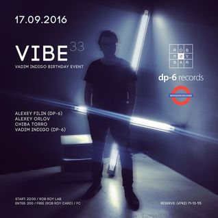 Alexey Filin (DP-6) - Vadim Indigo Birthday Event party 170916