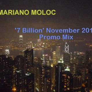Mariano Moloc - 'Seven Billion' November 2011 - Promo Mix
