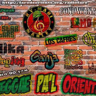 Reggae pa´l Oriente programa transmitido el día 20 de octubre 2016 por Radio Faro 90.1 FM
