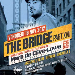 Mark De Clive-Lowe @ The Bridge, Djoon, Friday November 16th, 2012