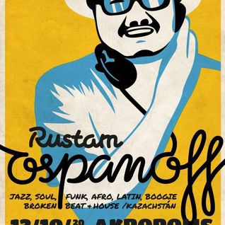 Rustam Ospanoff - Live Radioshow. October 2012. Part 1