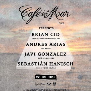 BRIAN CID // LIVE @ CAFE DEL MAR IBIZA (SUNSET SET)