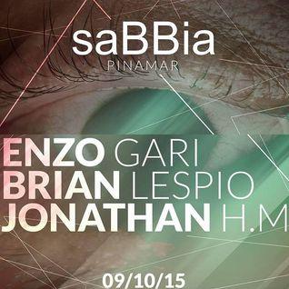 Brian Lespio @ Sabbia Pinamar 09-10-2015