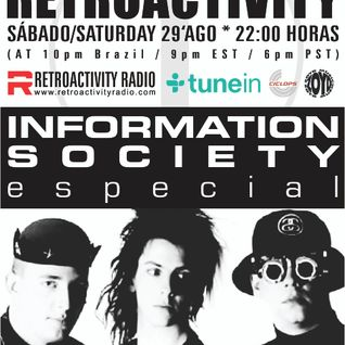 Retroactivity Radio - Interatividade Retroactivity Information Society 29AGO2015