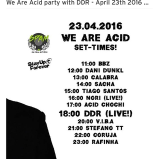 Coruja @ We are acid party (24/04/16)