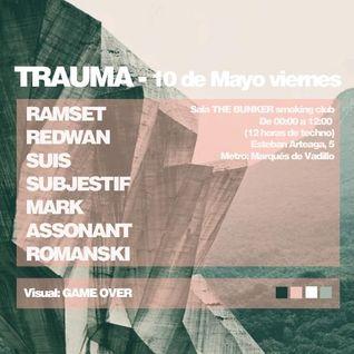 Assonant live at Trauma - 10/05/13