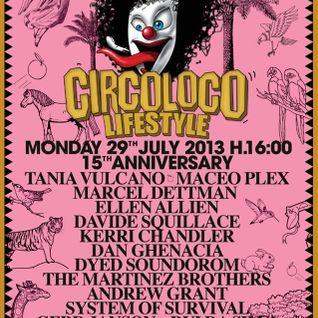 DVS1 @ Circoloco - DC-10 Ibiza (29-07-2013)