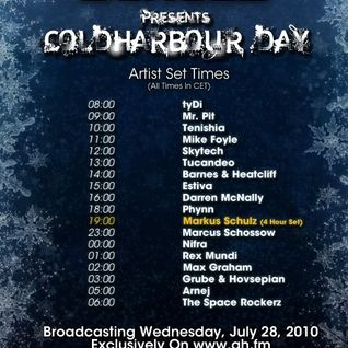 Coldharbour Day 2010 Hour 1 on Afterhours.fm - July 2010