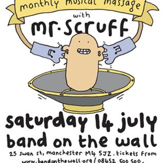 Mr Scruff live DJ mix from Keep It Unreal, Band On The Wall, Sat July 14th 2012