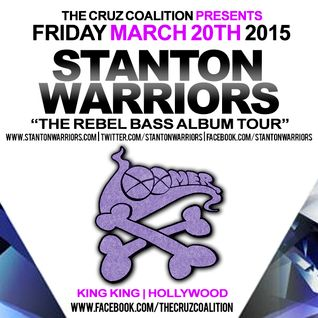 DJ Loomer @ Stanton Warriors Rebel Bass Tour LA 2015