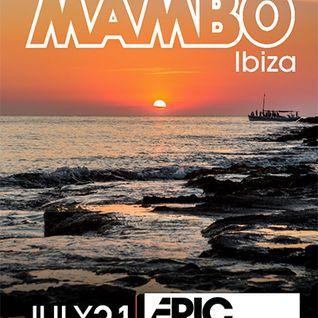 Eric Prydz - Live @ Cafe Mambo (Ibiza, Spain) - 31.07.2016