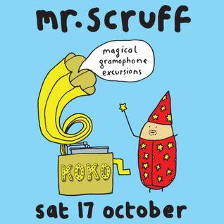 Mr Scruff DJ set, London Koko, Saturday 17th October 2015