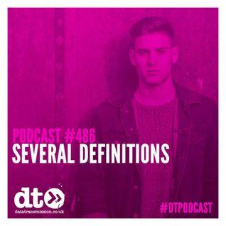 DTP486 - Several Definitions - Datatransmission