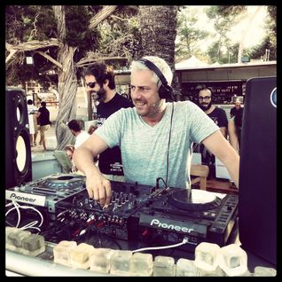 STEPHANE POMPOUNGNAC / Live from Coronita Sunset Sessions at Cala Bassa / 27.07.2013 / Ibiza Sonica