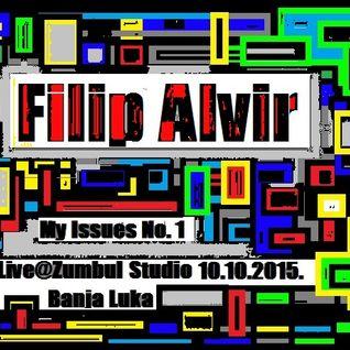 Filip Alvir Live@Studio Zumbul 10.10.2015. Banja Luka