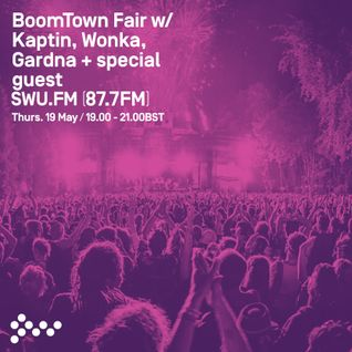 SWU FM - Boomtown w/ Gardna + Special Guest - May 19