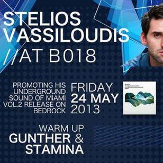 Stelios Vassiloudis - Live at B018, Beirut, Lebanon (24-05-2013) Part2