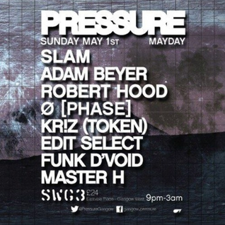 Funk D'Void at Pressure @SWG3 May 1st 2016