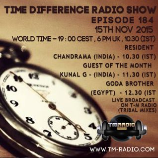 Chandrama - Time Differences 184 (15th November 2015) on TM-Radio