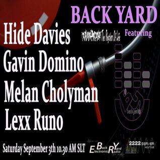 DJ Cat Mix 20160903 at Back Yard