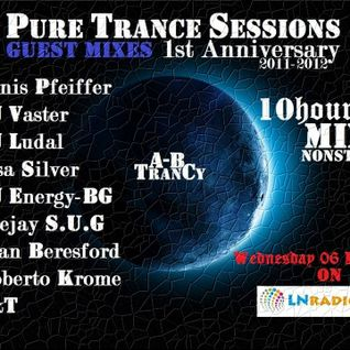 Pure Trance Sessions 1st Anniversary Celebration Denis Pfeiffer Guest Mix